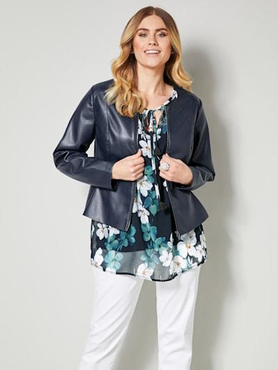 Geweldige leren jas dames voor iedereen| happy size.nl