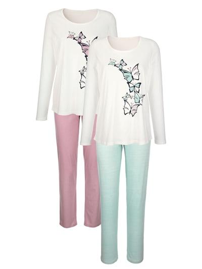 Nachthemd Kimono Caroline Home /& Sleep Wear Damen Schlafanzug 96483