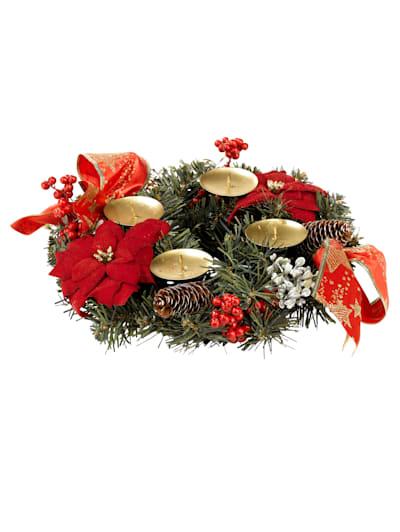 Adventskranz basteln   Adventskranz basteln, Weihnachtskränze basteln,  Weihnachtskränze diy