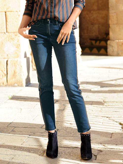 Jeans van comfortabel elastisch materiaal