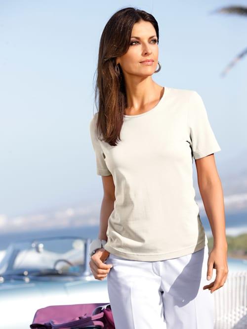 Shirt mit Pima Baumwolle