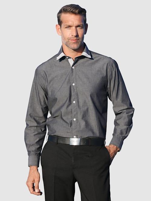 Overhemd met verstelbare manchetten