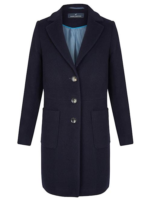Eleganter Mantel mit Knopfleiste