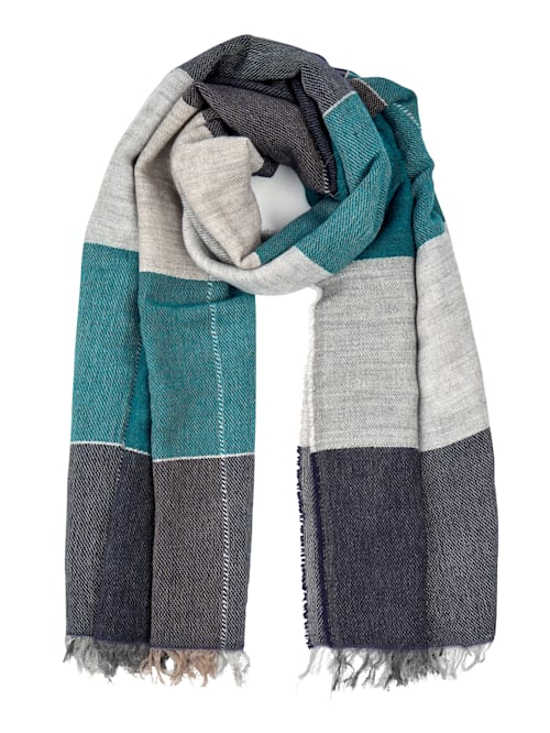 Scarf made from a soft fabric