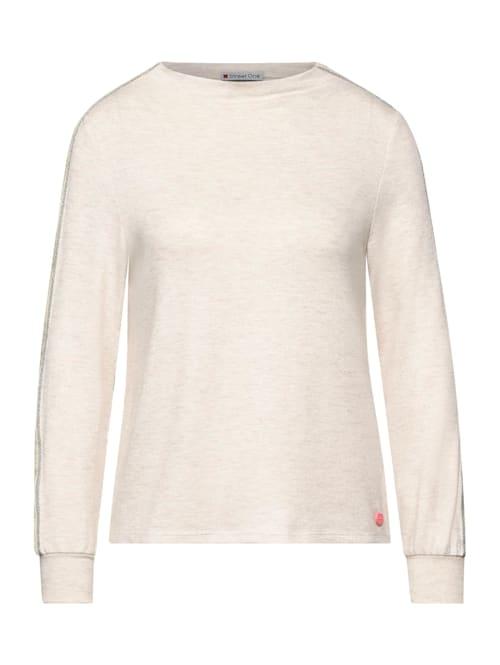 Shirt mit Kontraststreifen