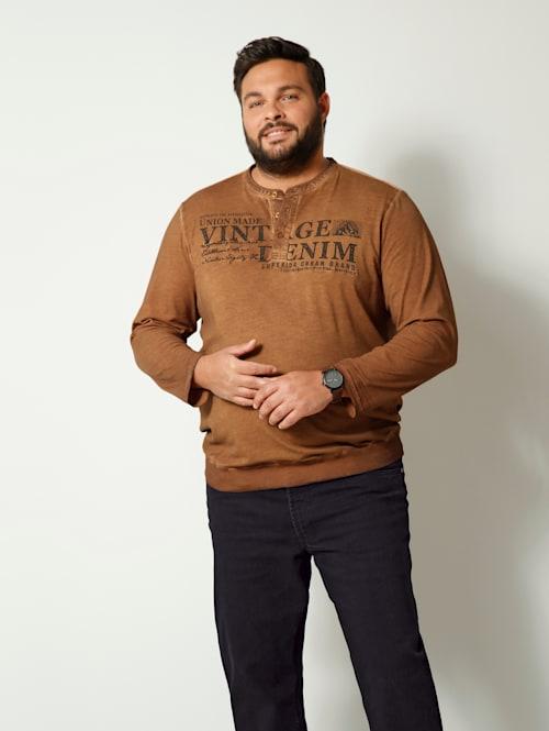 T-shirt à manches longues Coupe spéciale