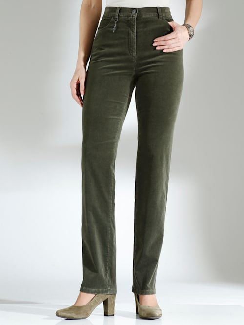 Pantalon en velours doux