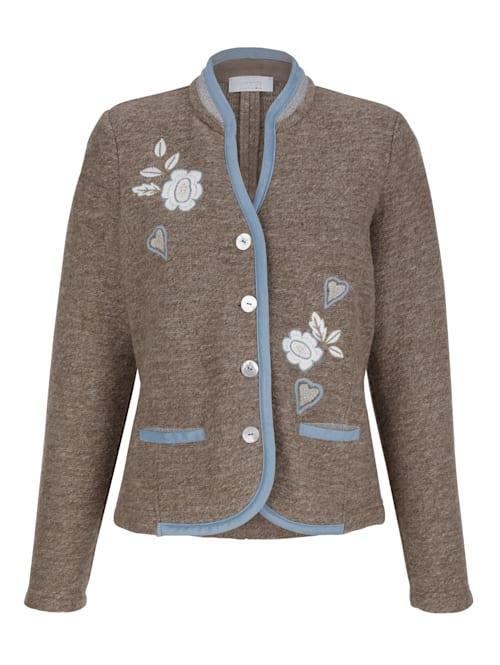 Veste traditionnelle en laine mélangée