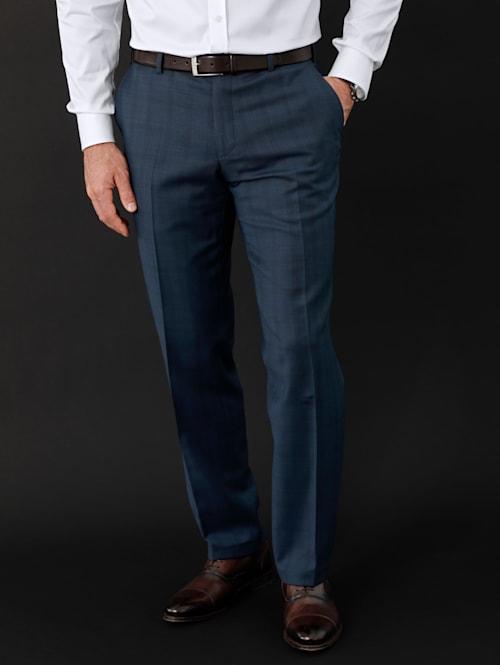 Oblekové nohavice so strižnou vlnou