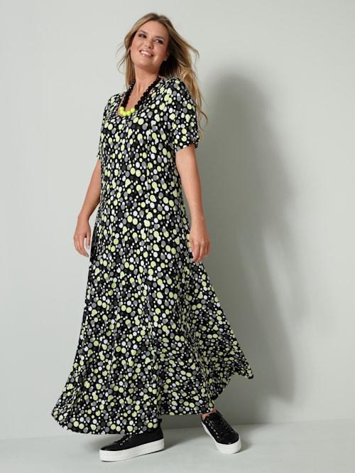 Džersej šaty v mierne rozšírenom strihu