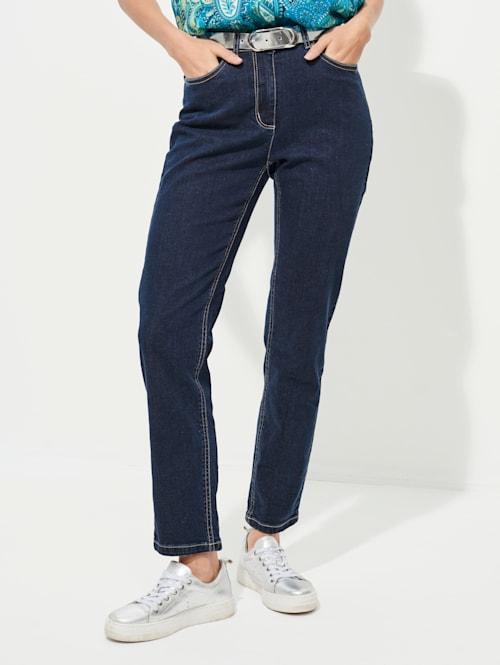 Jeans in sportief 5-pocketmodel
