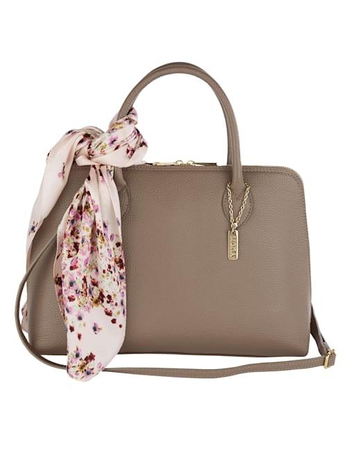 Handtasche mit abnehmbarem Tuch