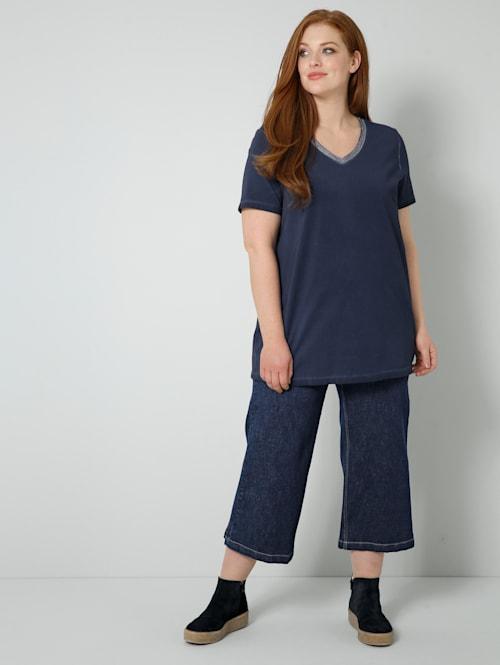 Jeans van licht elastisch denimmateriaal