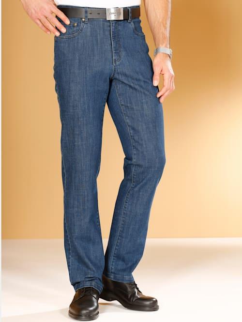 5-Pocket Jeans mit Innendehnbund