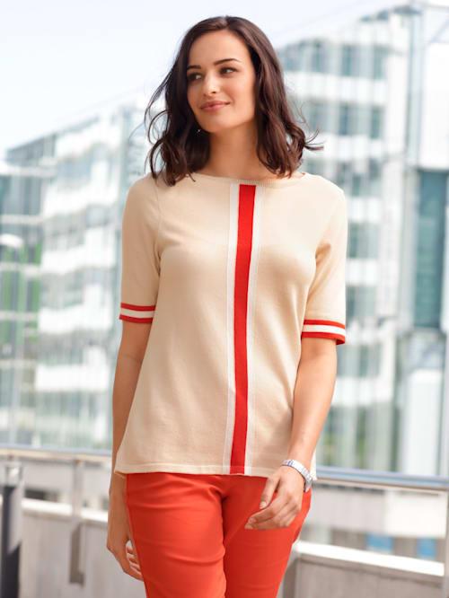 Pullover mit Halbarm