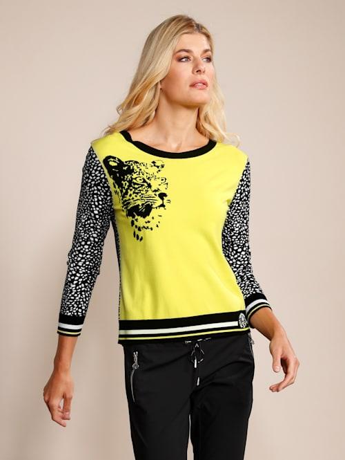 Pullover in toller Farbkombination