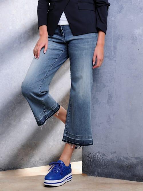 Jean de style jupe-culotte