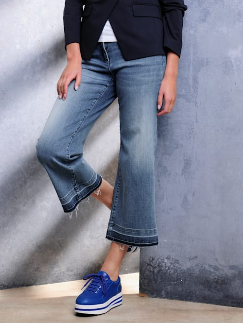 Jeans i culottemodell