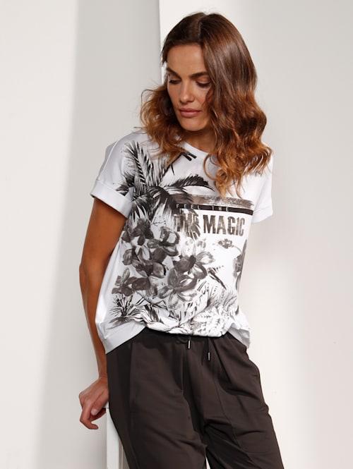 T-Shirt mit tollem Palmendruck