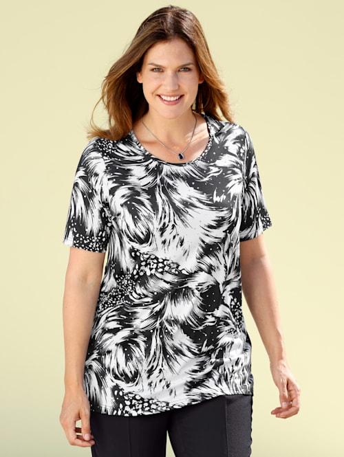 Shirt mit grafischem Druckdessin