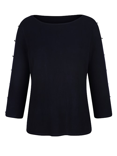Pullover mit Cut-Outs am Arm