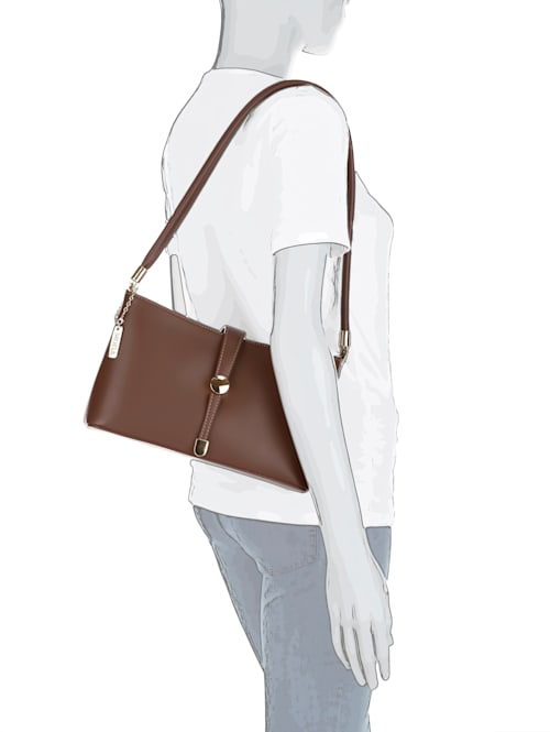 Handväska i skinn