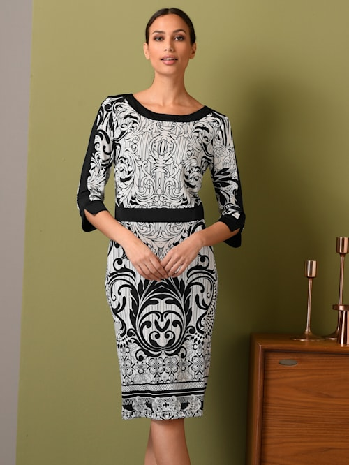 Kleid aus fester Jerseyware