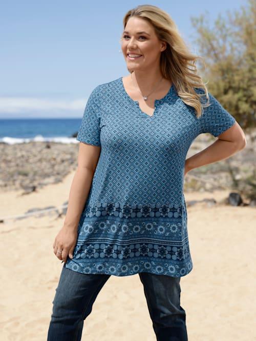 Tunika-Shirt in A-Shape