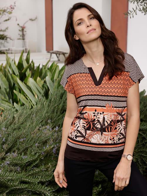Shirt in Tunikaform