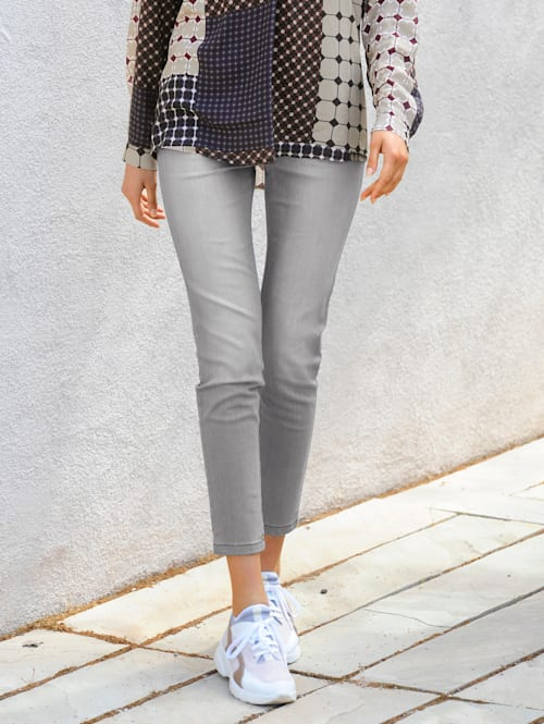 Jeans mit leichter Used-Waschung