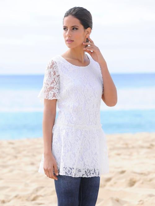 Strandshirt mit Volant