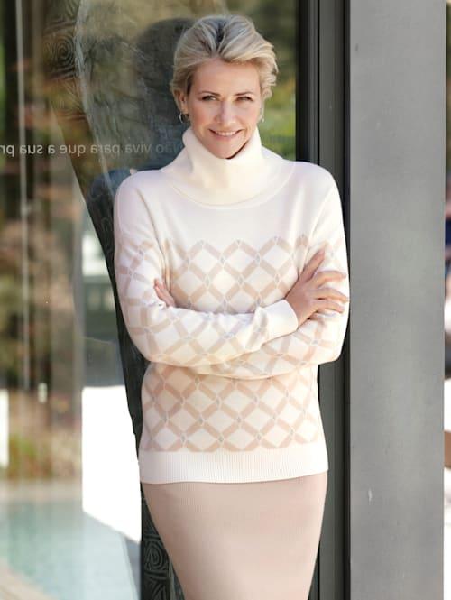 Pullover mit grafischem Jacquard-Muster
