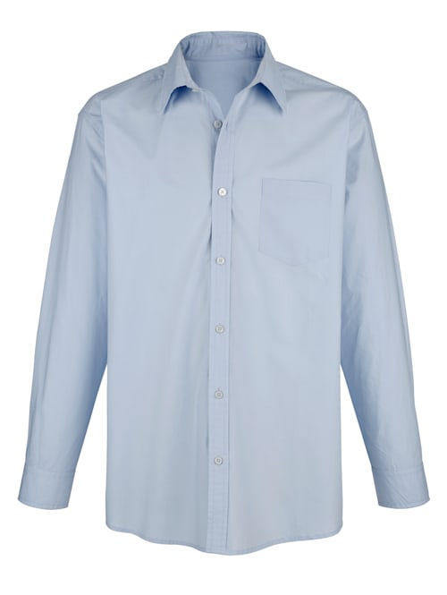 Skjorta i strykfritt material