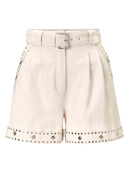 Shorts mit Besatz