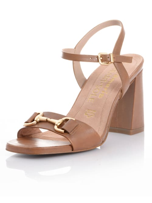 Sandalette mit Trense