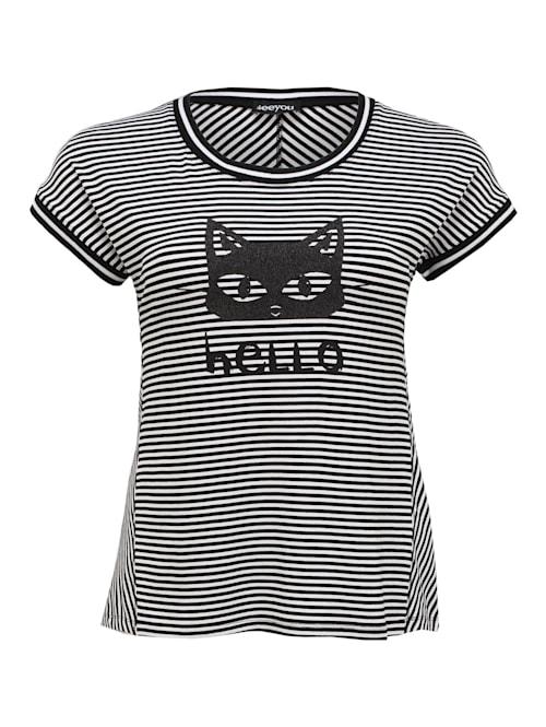 Shirt mit Druck Applikationen