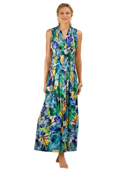 Strandkleid in attraktivem Sommerdruck