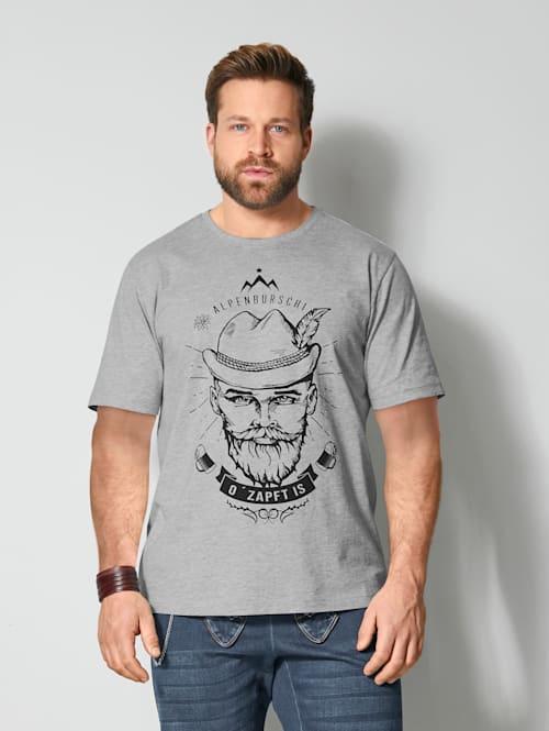 T-Shirt mit platziertem Druck