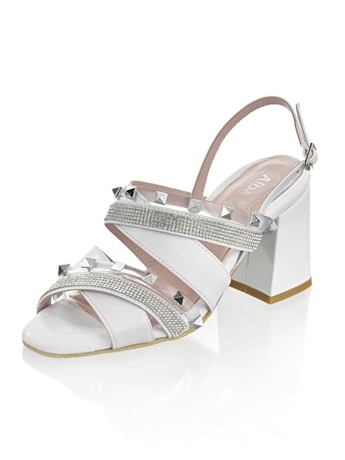 Sandales rivetées