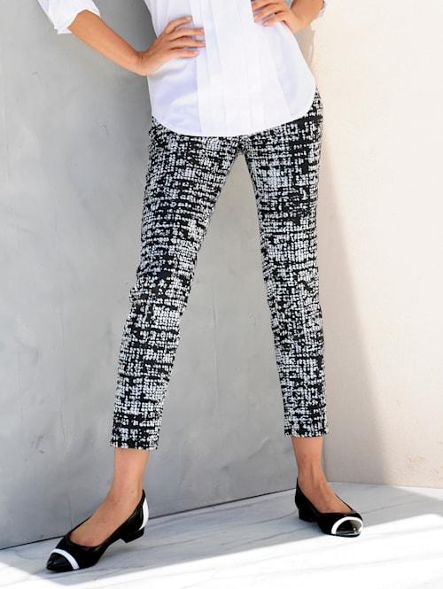 Hose im exklusiven Alba Moda Print