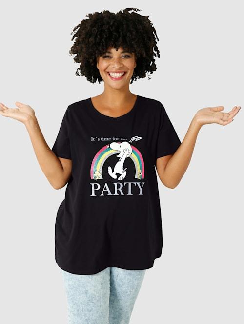 Shirt met schattige print