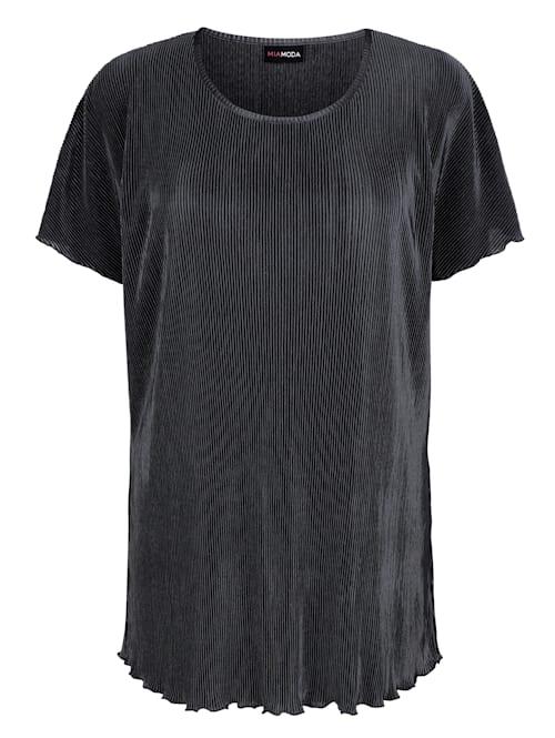 Shirt in Plissee Qualität