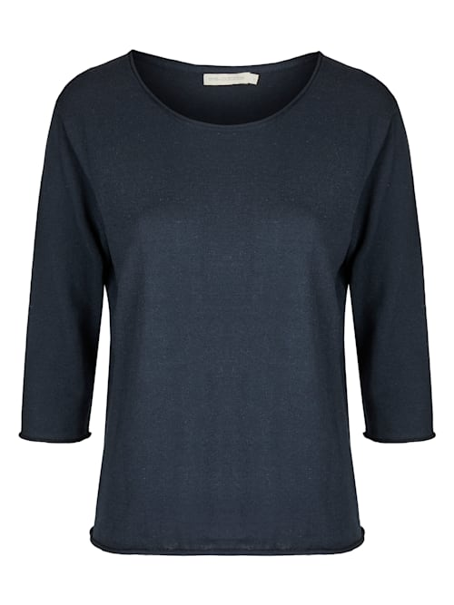 "Pullover Modell ""Tanja"" aus Baumwolle Seide Mix"