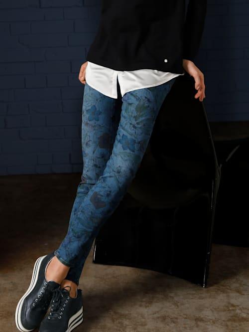 Jeans 'Shakira' im modischen Blumenprint
