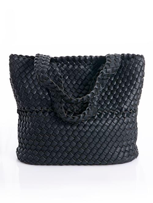 Tasche in Flechtoptik