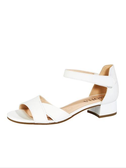 Sandalette mit Klettverschluss