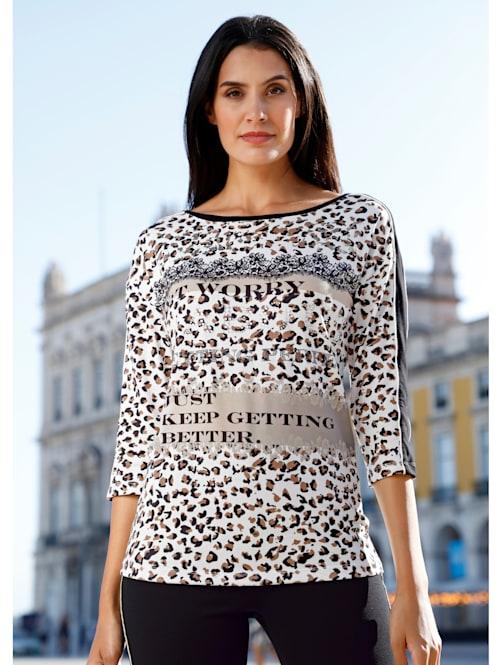 Tričko s módním potiskem