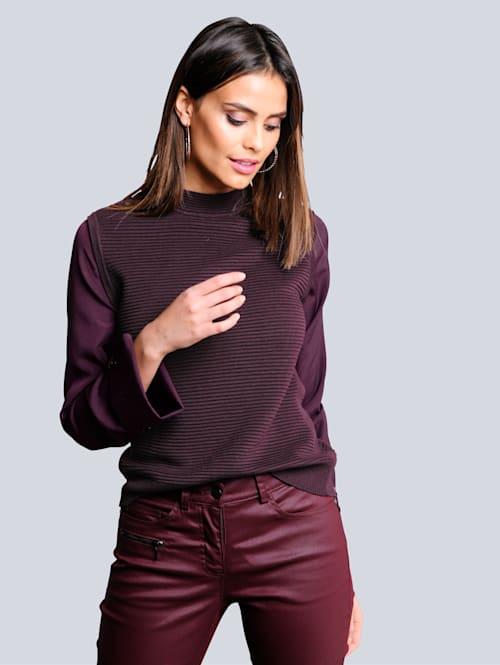 Pullover in 2-in-1 Optik