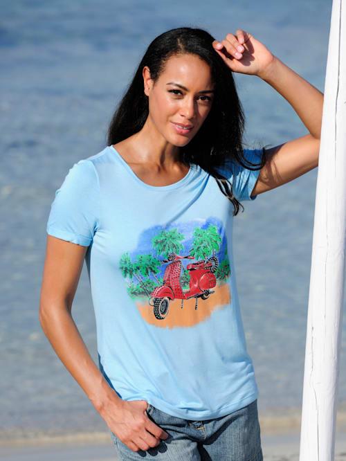 Strandshirt mit Motiv