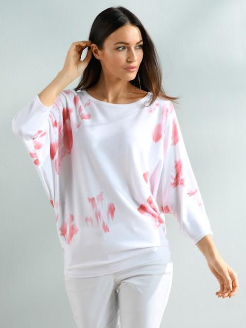 Pullover mit exklusivem Alba Moda Dessin